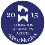 Federation of Canadian Artists Active Member 2015