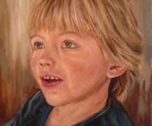 Portrait of Grandson