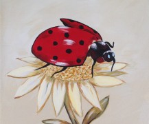 Whimsical Lady Bug