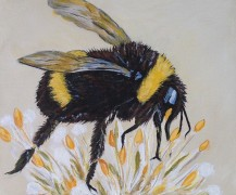 Whimsical Bumble Bee
