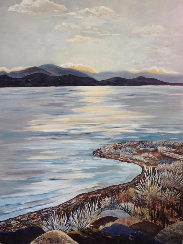 Qualicum View To Lasqueti Island